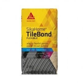 SikaHome TileBond Flexible Adeziv flexibil pentru placari in pat subtire